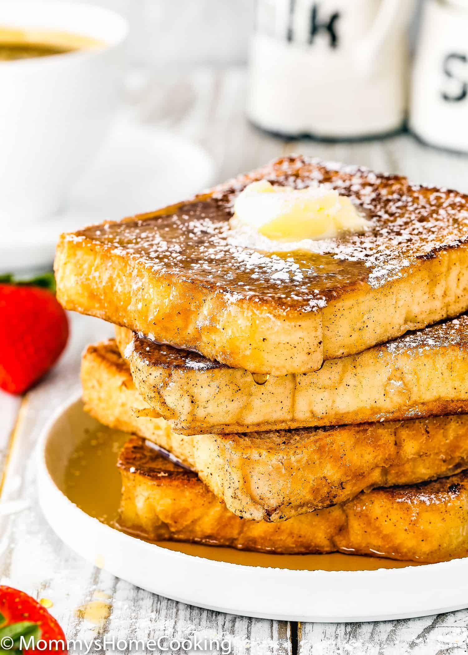 how to make french toast without eggs video