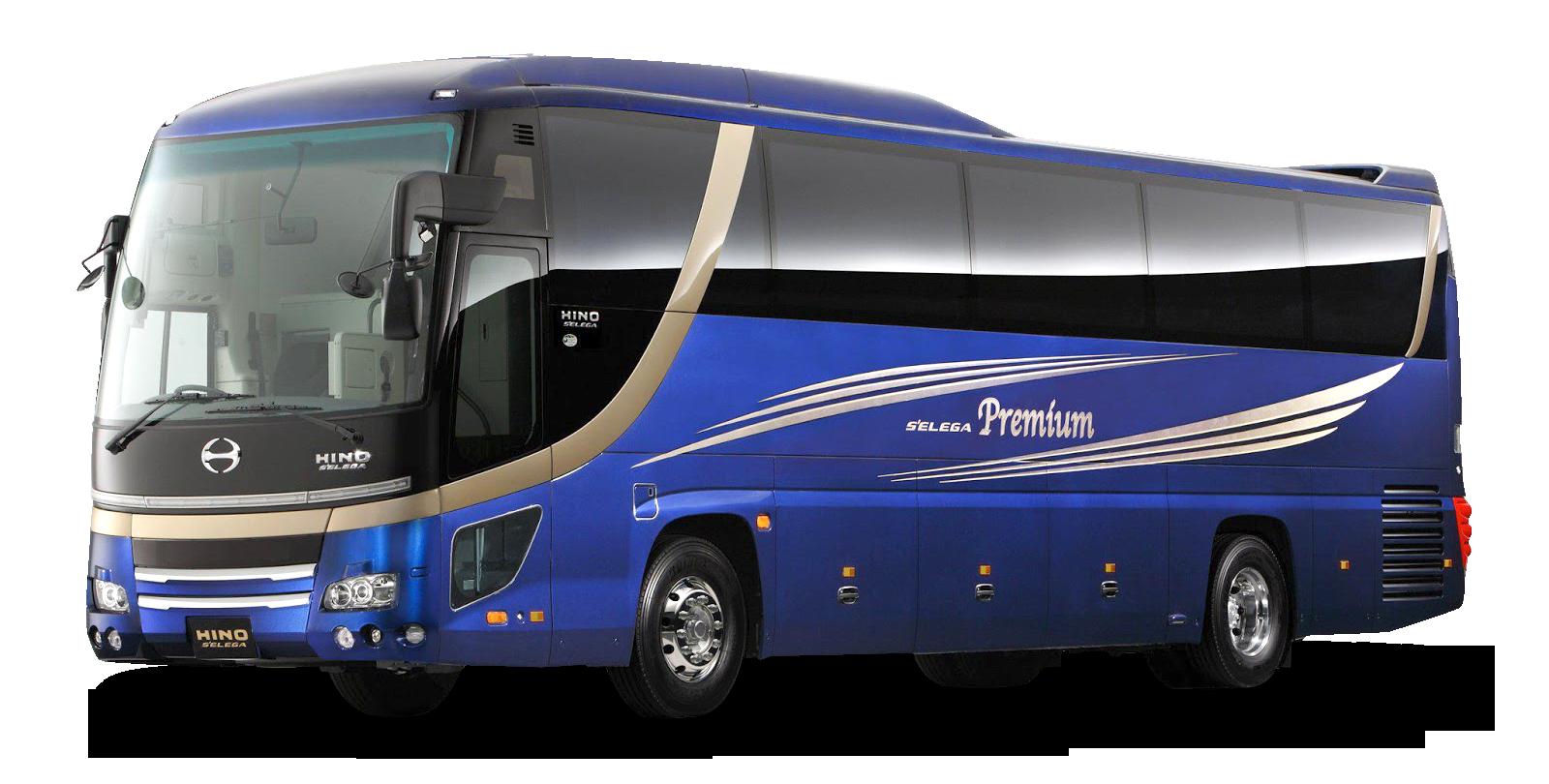 Bus Png Image Blue Bus Hino Bus