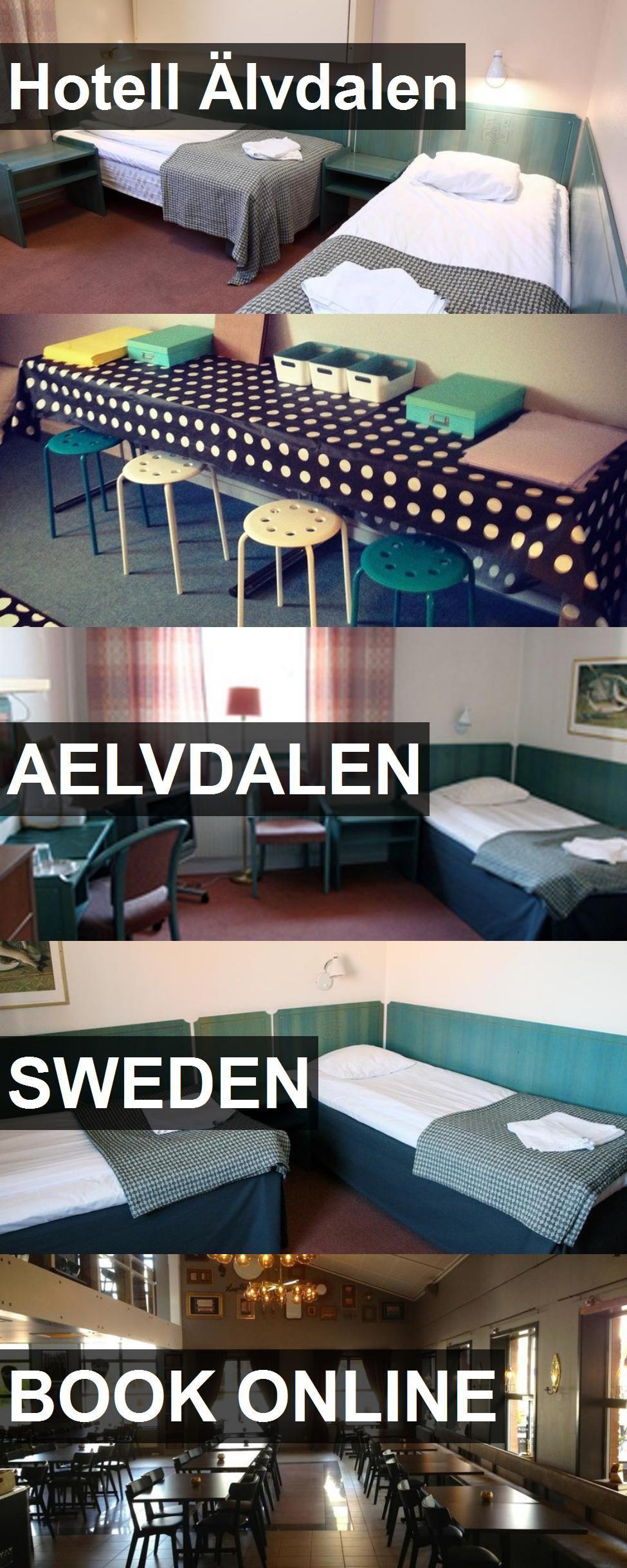 Hotell Älvdalen in Aelvdalen, Sweden. For more information