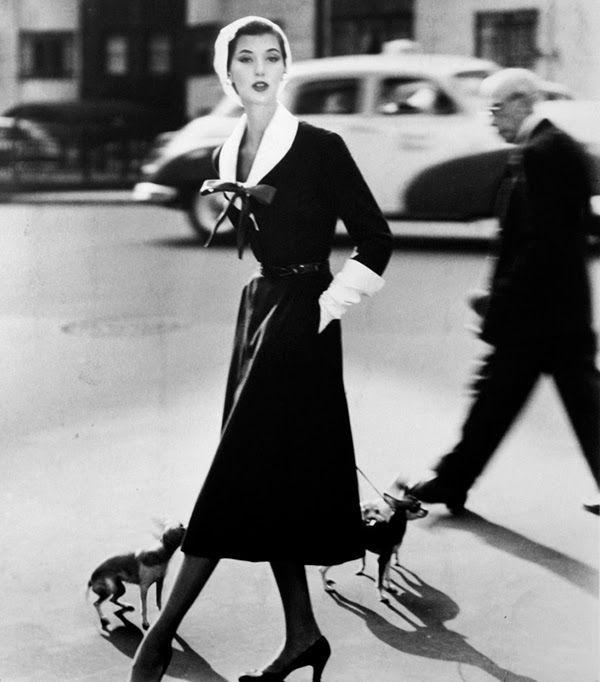 Barbara Mullen modelling. Image via Pinterest.