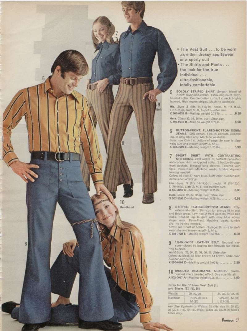 465497a3268 Fashion 70s Clothing for Men