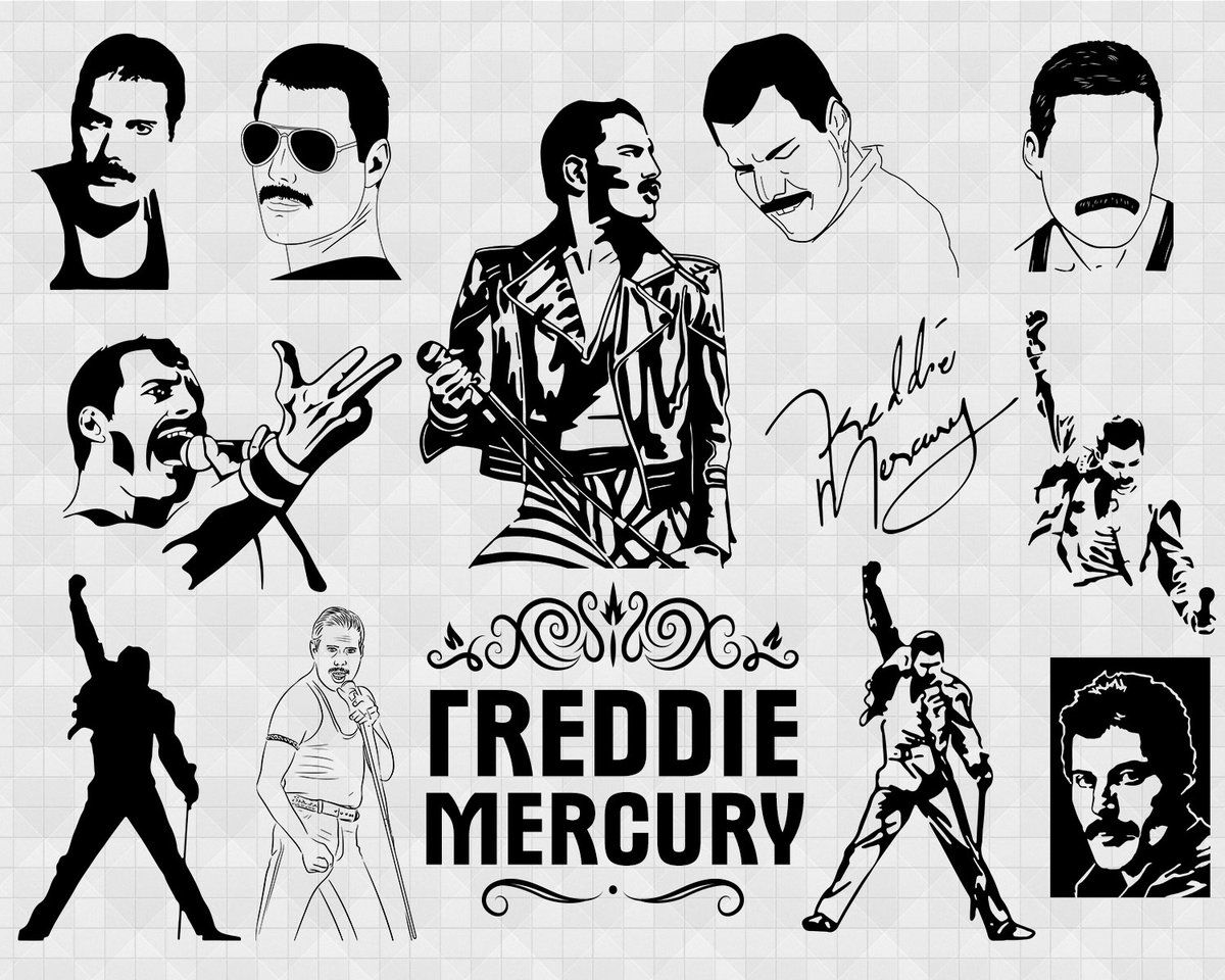 Freddie Mercury Svg Freddie Mercury Svg Freddie Mercury Wall Print Queen Poster Rock Star Legend Quote Music Famous People Portrait Film Star Painti In 2020 Queen Poster Freddie Mercury Mercury Logo