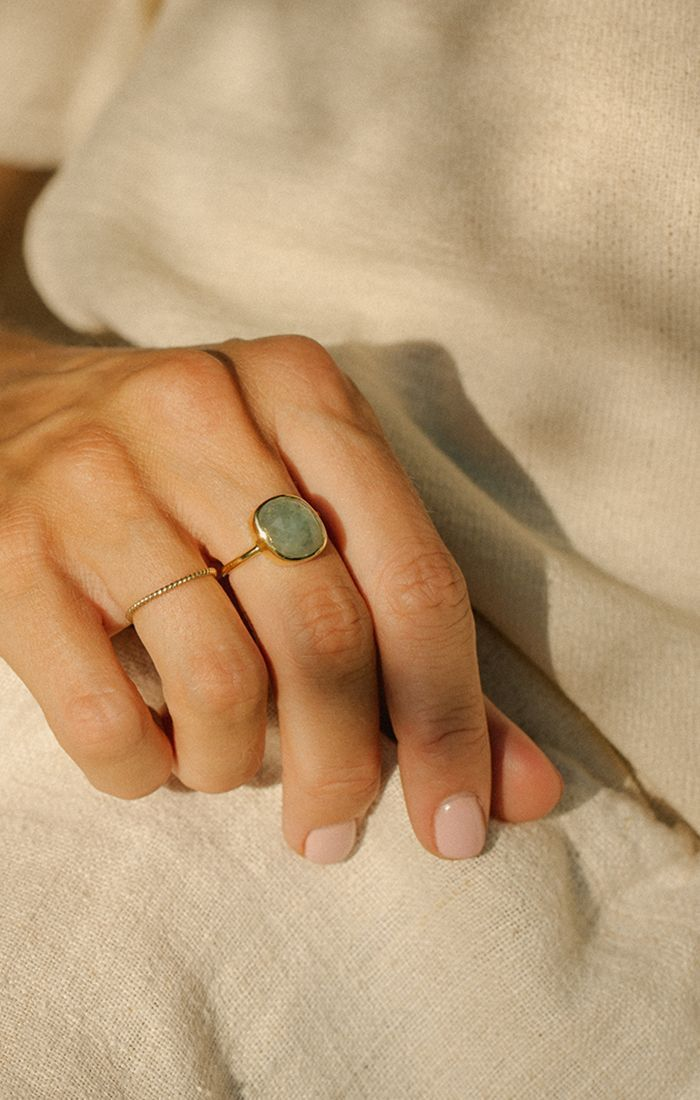 Photo of Aura Ring | Aquamarine #accesories #gemstonejewelry Aura Ring | Aquamarine #acce…