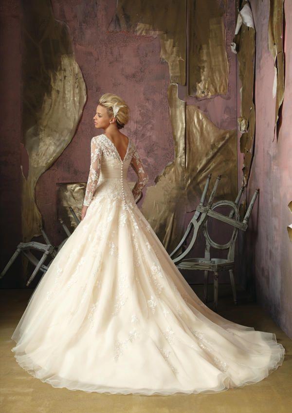Mori Lee Bridal 1851 MORI LEE BRIDAL FALL 2012 Bravura