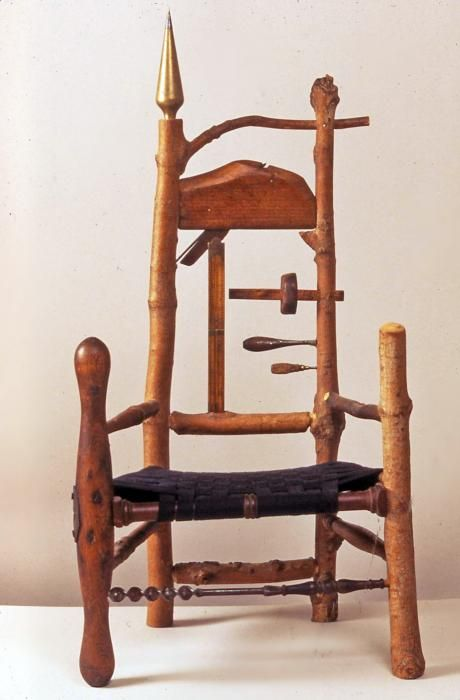 Captivating Dan Mack   Brilliant Rustic Furniture Maker. Love The Found Objects  Imbedded In His Chairs