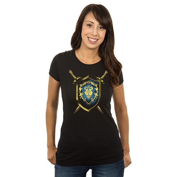 World of Warcraft Alliance Coat of Arms T-Shirt - WoW T-Shirt