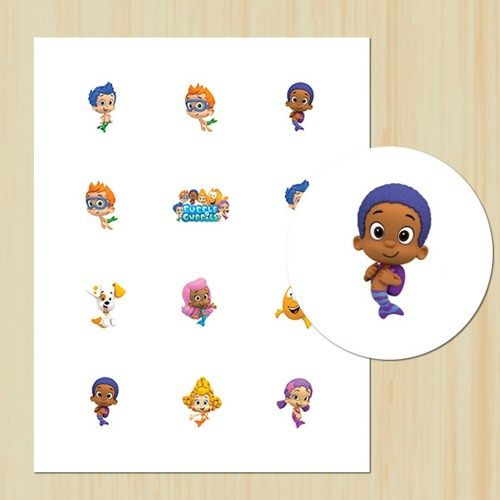 DIY, Printable Bubble Guppies 2\