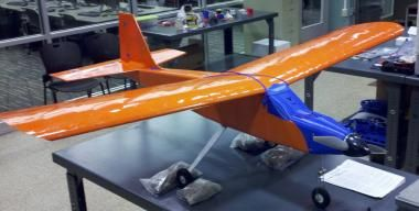 Ready for this?  How about an airplane that actually flies?!  Courtesy of University of Virgina students.