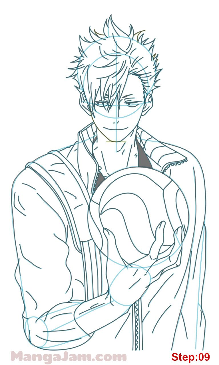 How To Draw Kuroo Tetsuro From Haikyuu Mangajam Com In 2020 Anime Character Drawing Anime Lineart Anime Sketch