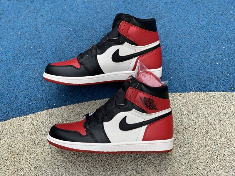 dfad77e9e1ae16 air jordan 1 retro high og bred toe black red white 555088-610 pics ...