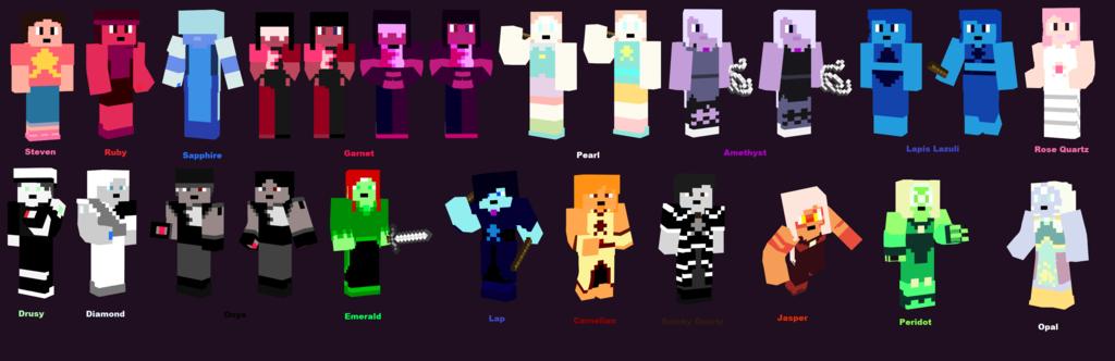 Amethyst Steven Universe Minecraft Skin   steven_universe__skin_showcase_version_001_by_manic_mitchung-d8tssqz ...