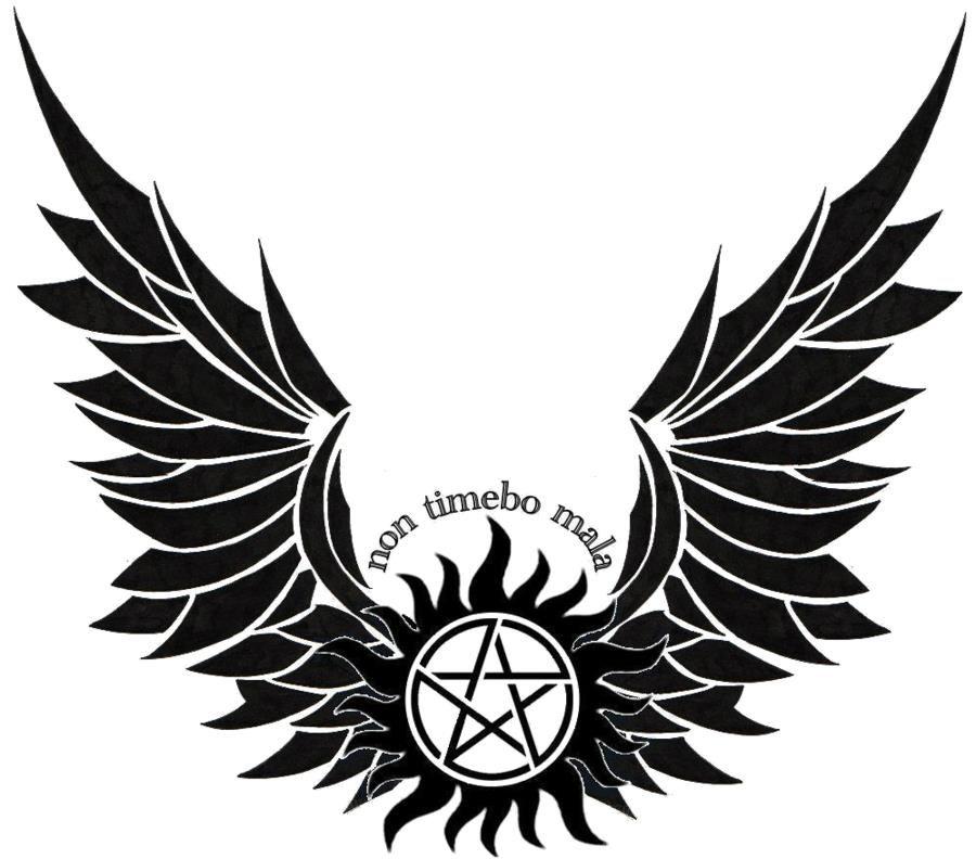 Security Check Required | Supernatural symbols, Supernatural