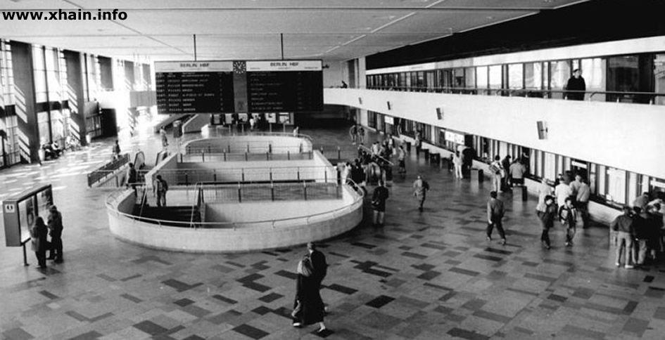 Hauptbahnhof Berlin - Hauptstadt der DDR (1989) Ost oder Schlesicher Bahnhof