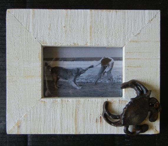 Iron Crab Frame made of Cypress by NGHdesign on Etsy