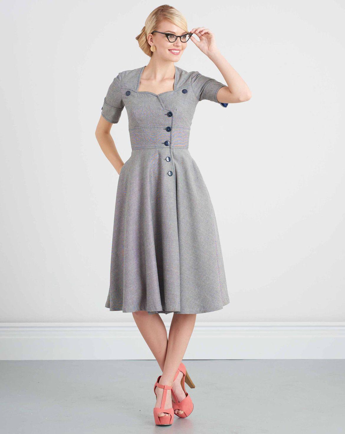 burda style, Simplicity Schnitt, Kleid H/W 2017 #7951.K5 ...