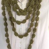 Tina's handicraft : Learn to Knit Original Necklaces