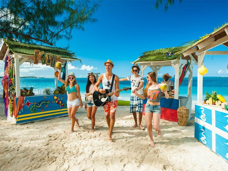 Vacation spots for teens