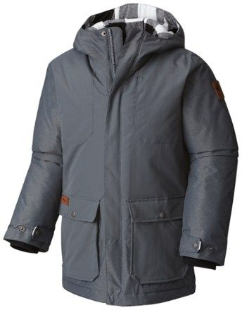 9c0fb7453748 Columbia Boy s Lost Brook Jacket Graphite Graphite Heather XXS ...