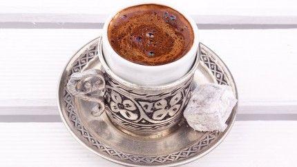 قهوة تركية ساخنة Brown Coffee I Love Coffee Tea Cups