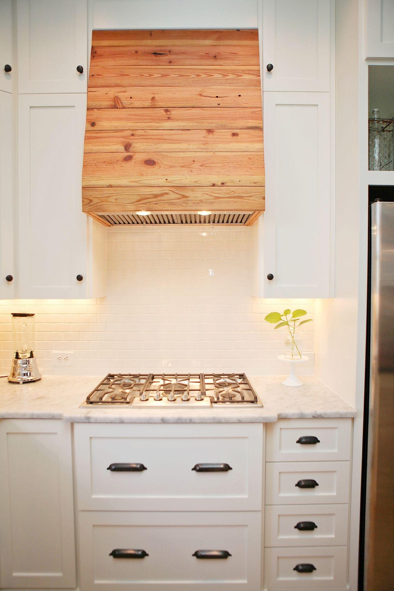 Storage Smart Cottage Kitchen Unique Cooktop Hood Made
