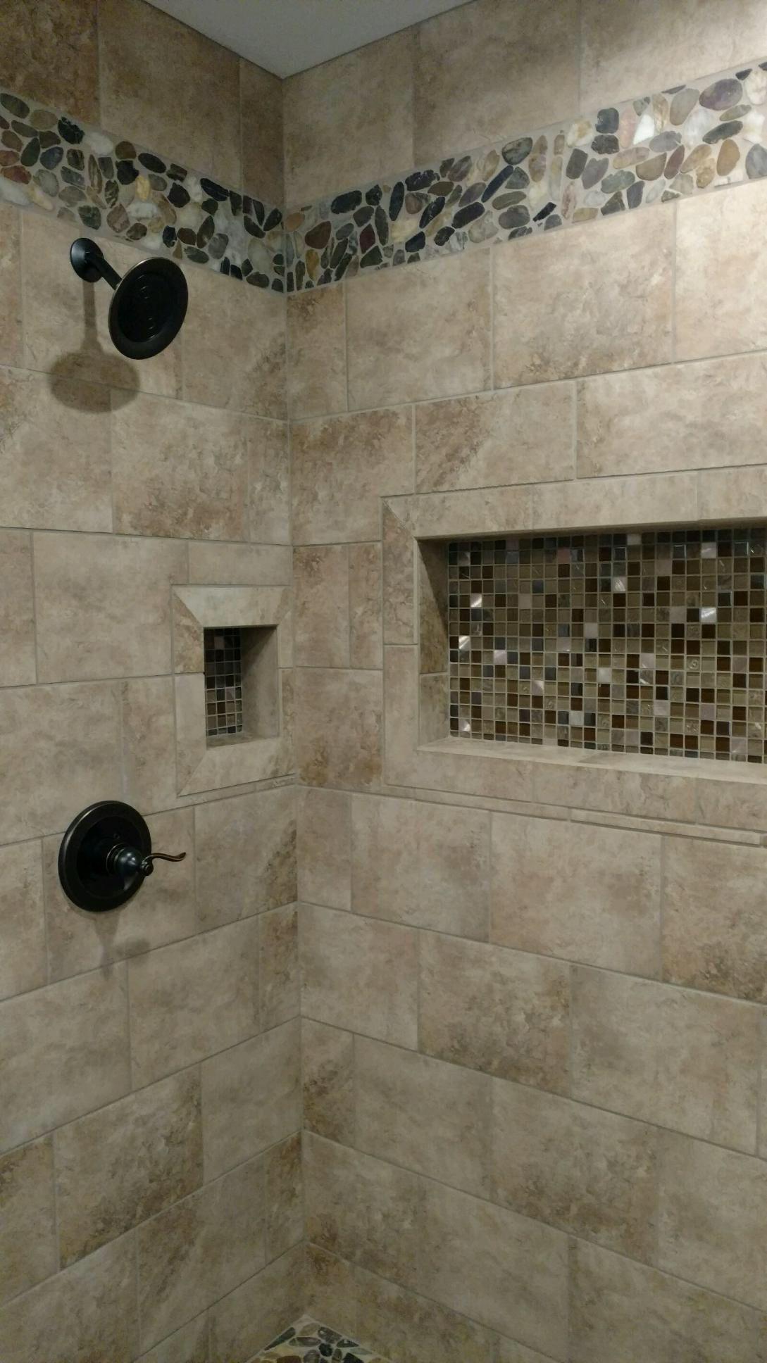My new shower