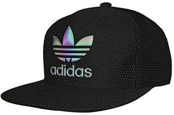 Mediar Hablar Violeta  Men's Adidas Originals 'Trefoil Reflective' Snapback Cap - Black | Gorras