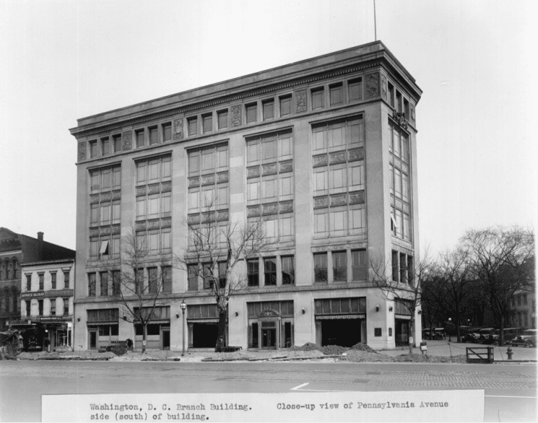 What Did D C Look Like In 1916 Ford Motor Company Ford Old Photos
