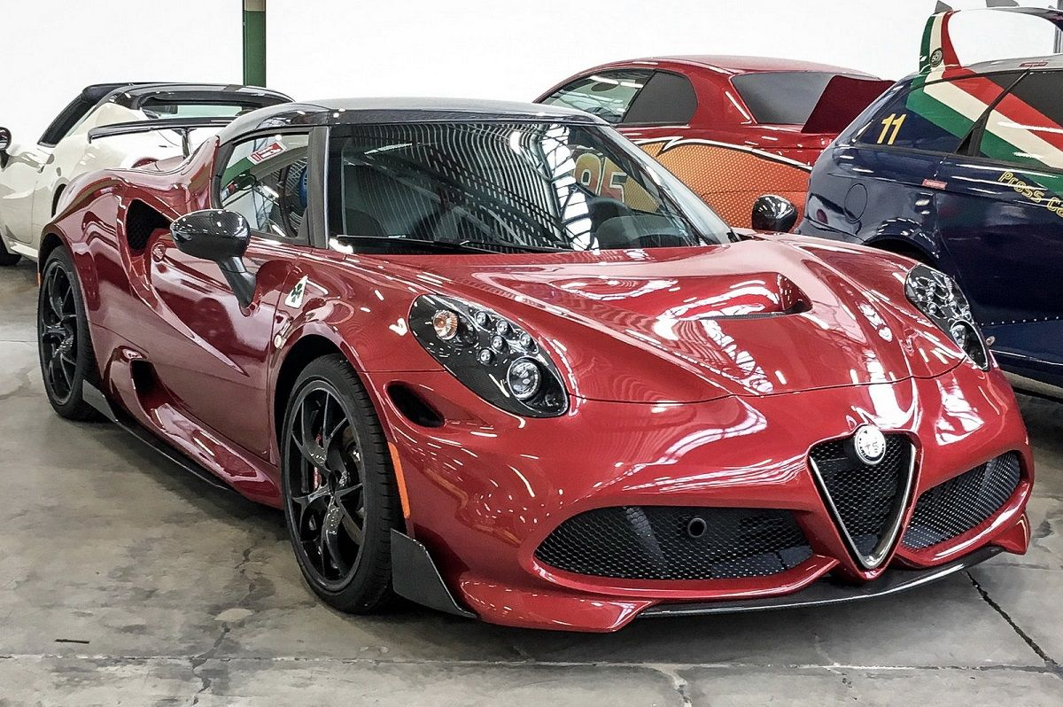 Alfa Romeo 4C >> Alfa Romeo 4c Quadrifoglio Esposta All Heritage Hub La