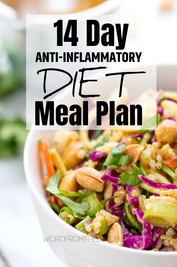 2 Week Anti-Inflammatory Meal Plan – Breakfast, Lunch, and Dinner Recipes
