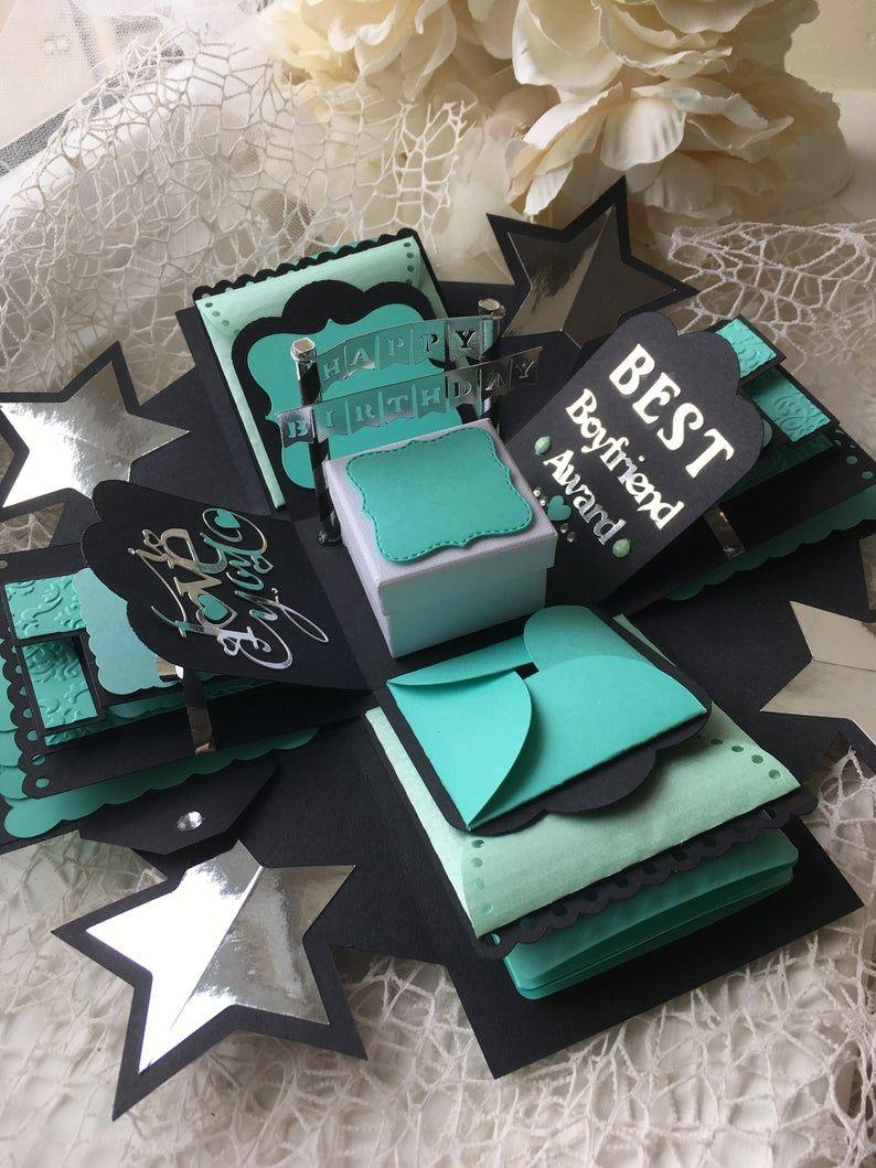 Alles Gute zum Geburtstag Explosion Foto-Box Geburtstag | Etsy