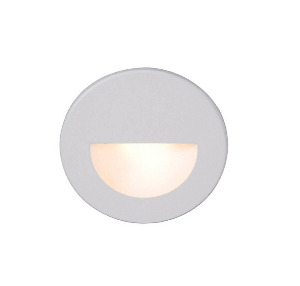Wac Lighting 120v Ledme Round Indoor Outdoor Step And Wall Light In White In 2020 Led Step Lights Wall Lights Modern Wall Sconces