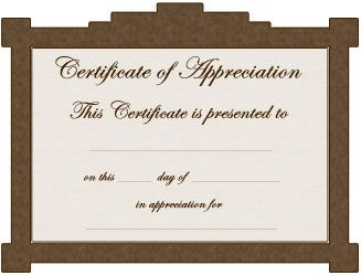 parent award certificates free certificate templates