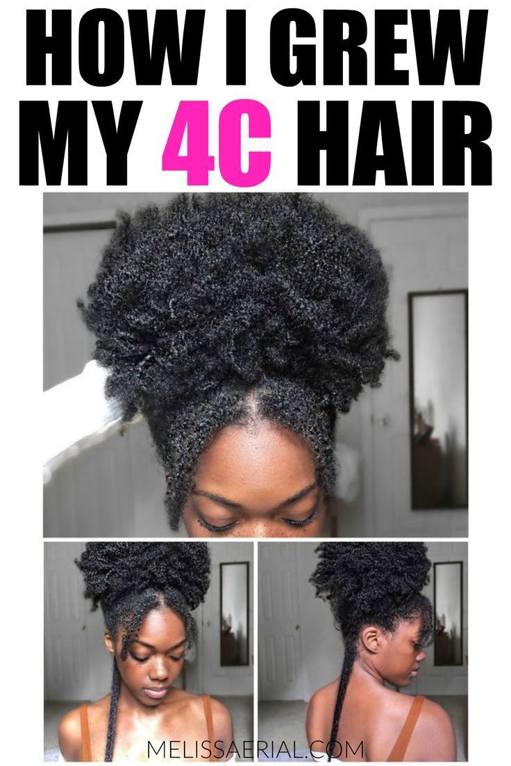 4C Hair Care Is Vital To Your Hair Success If You Want To Grow It Long.