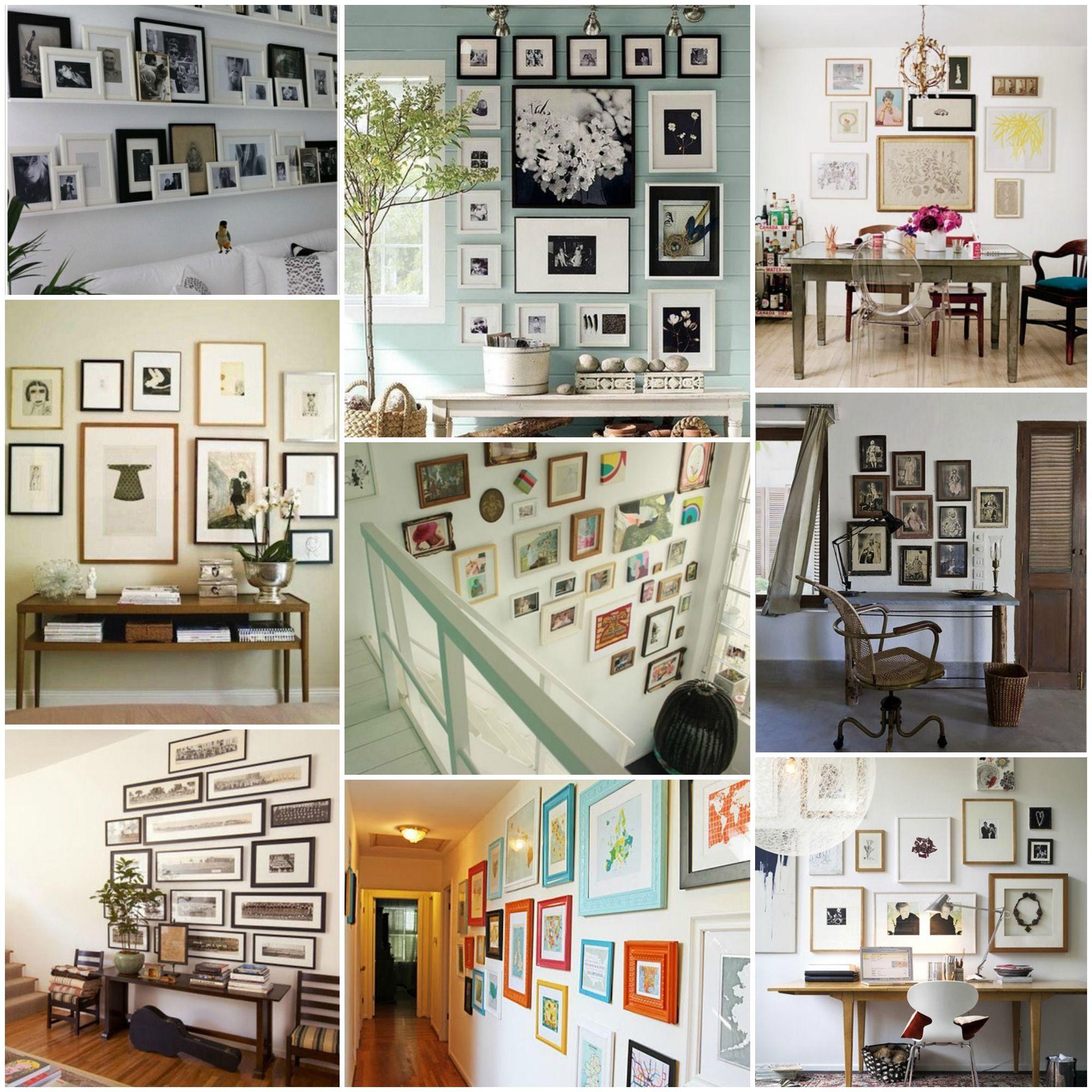 composición de cuadros y marcos   Diy photos   Pinterest ...