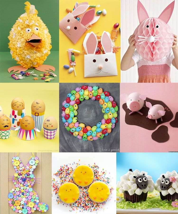 creative easter craft ideas for kids kiddie stuff pinterest