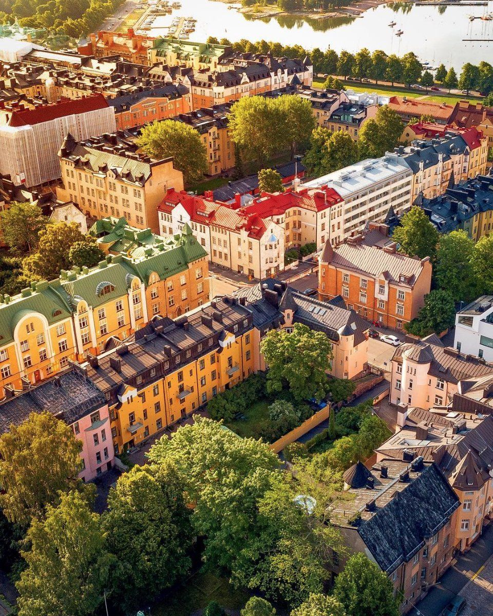 Beautiful Helsinki From Above Omarelmrabt Ig Visit