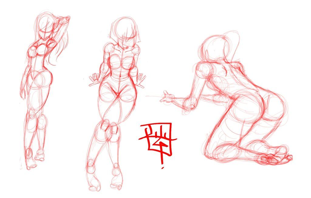female anatomy practice by *LuigiL on deviantART | Anatomy Practice ...
