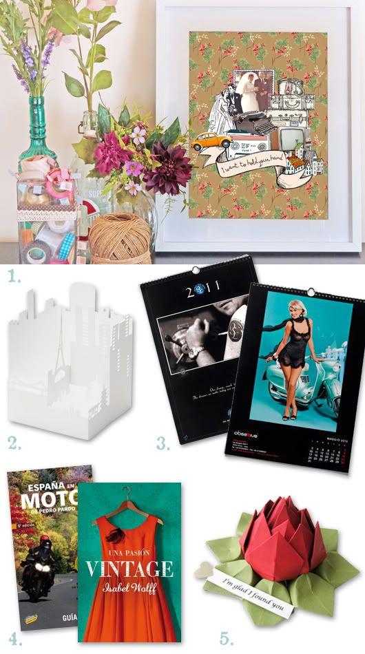 Ideas de regalos para celebrar el primer aniversario de - Regalos de primer aniversario ...