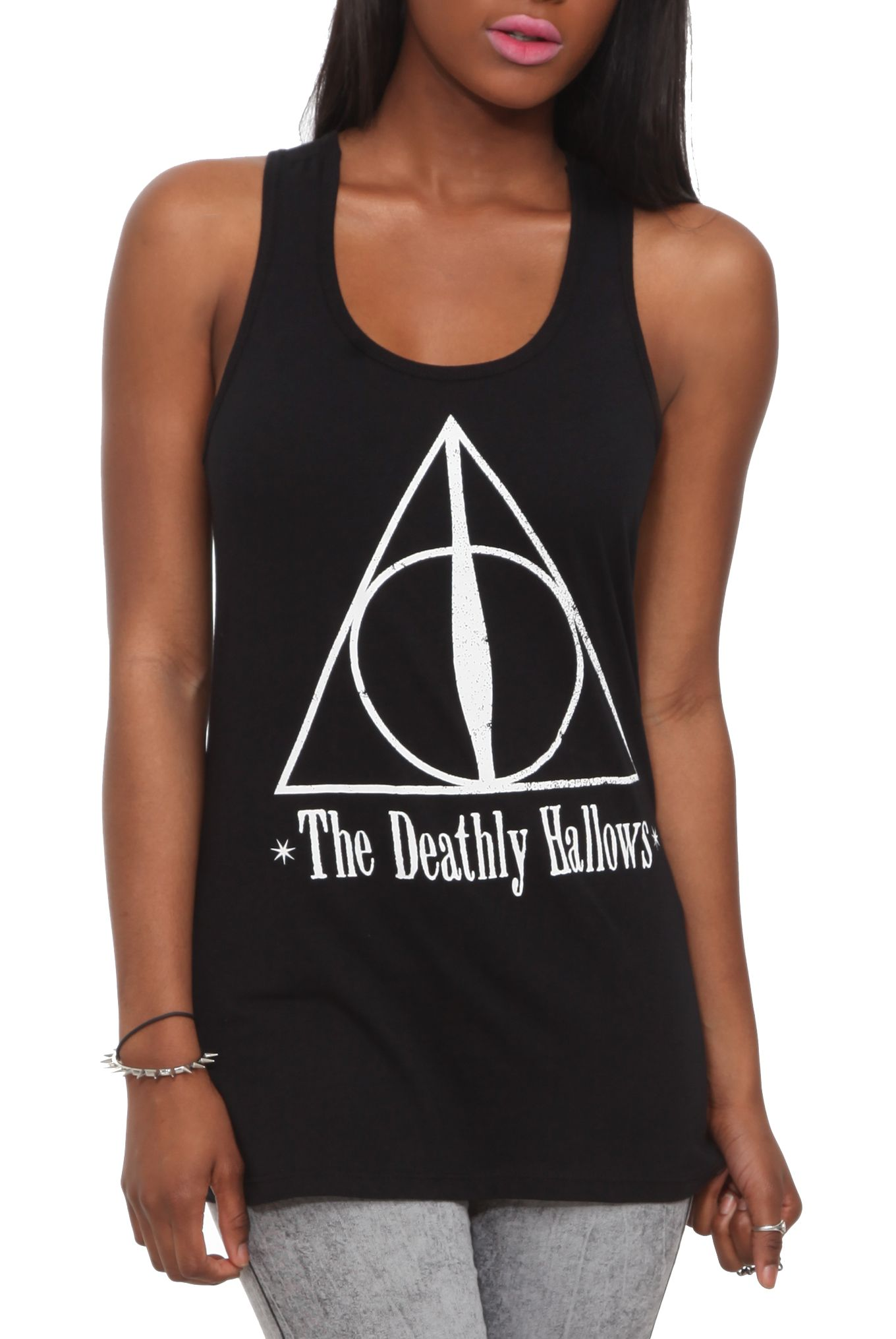 Harry potter and the deathly hallows symbol girls tank top hot harry potter and the deathly hallows symbol girls tank top biocorpaavc Images