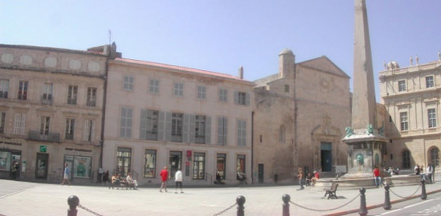 Arles :Place de la Republique