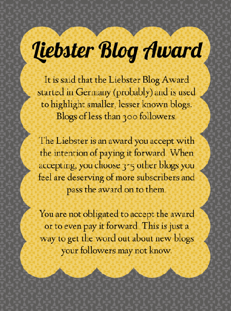 The Liebster Award Secrets revealed, Blog, Official rules