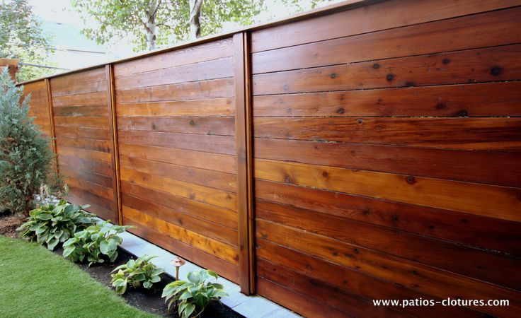 42 Awesome Privacy Fence Ideas For Residential Homes In 2020 Wood Fence Design Fence Design Horizontal Fence