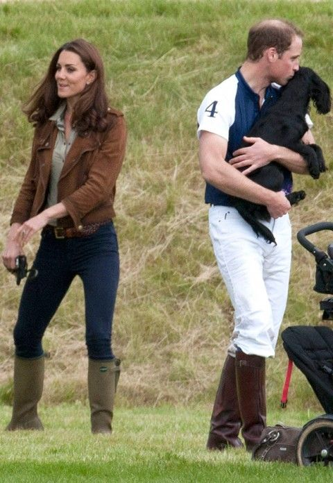 Kate Middleton, Prince William and Lupo