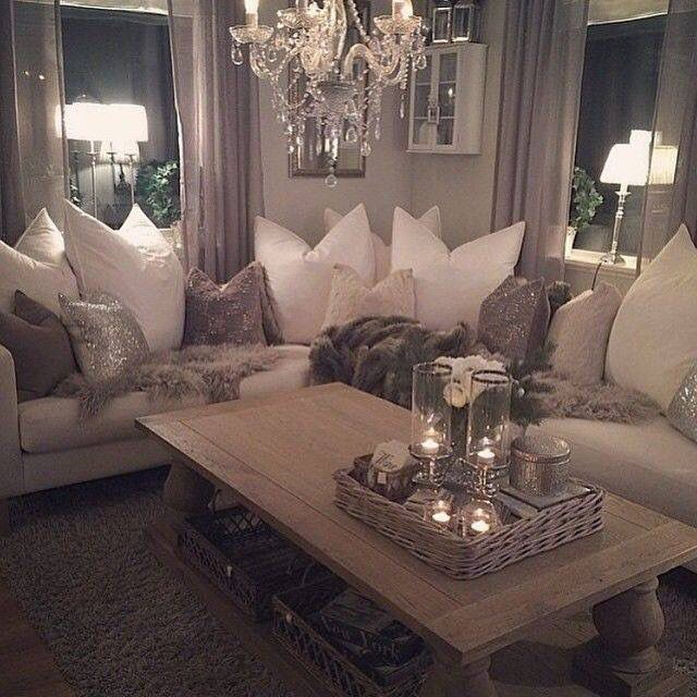 Relaxed Large Pillows Not With Chop In Center All Down Is Best Way To Get  Relaxed Pillows   Modern Living Room