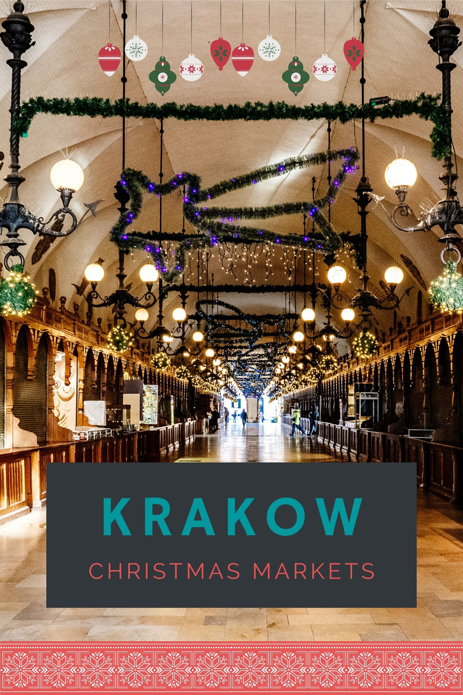 Visit the Krakow Christmas Market, Polands best winter market. Krakow is streets ahead of the rest of Poland when it comes to celebrating Christmas and the New Year. The markets are pretty and lively, the food is affordable and delicious and the people in Krakow and lovely. I recommend visiting this year in November or December when you can get the most out the market in the old square and the historic Jewish Quarter.