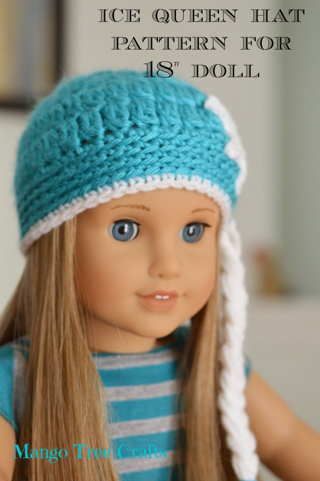 Ice queen crochet hat pattern for american girl doll american ice queen crochet hat pattern for american girl doll bankloansurffo Gallery