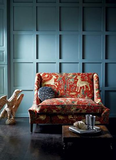 Zoffany Fabric ...love this settee..