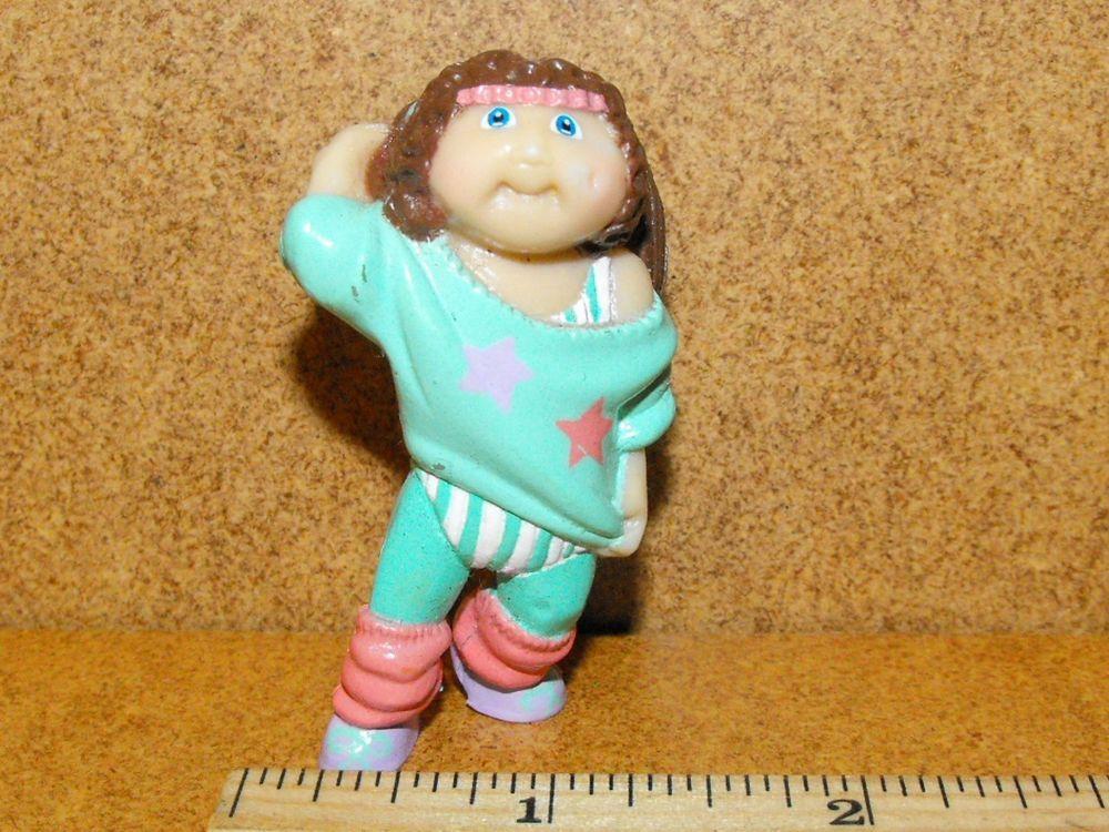 Vintage Mini Cabbage Patch Kids Girl Pvc Figure Miniature Cpk 1980 S 80 S Cabbage Patch Kids Cabbage Patch Kids Girls