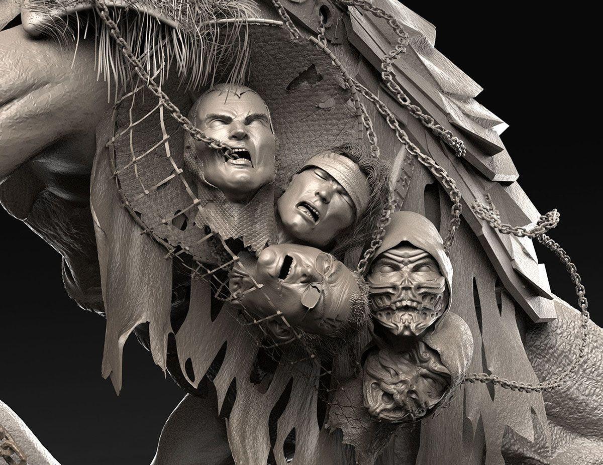 ArtStation - - Mortal Kombat 3D Fan Art -, Caleb Nefzen