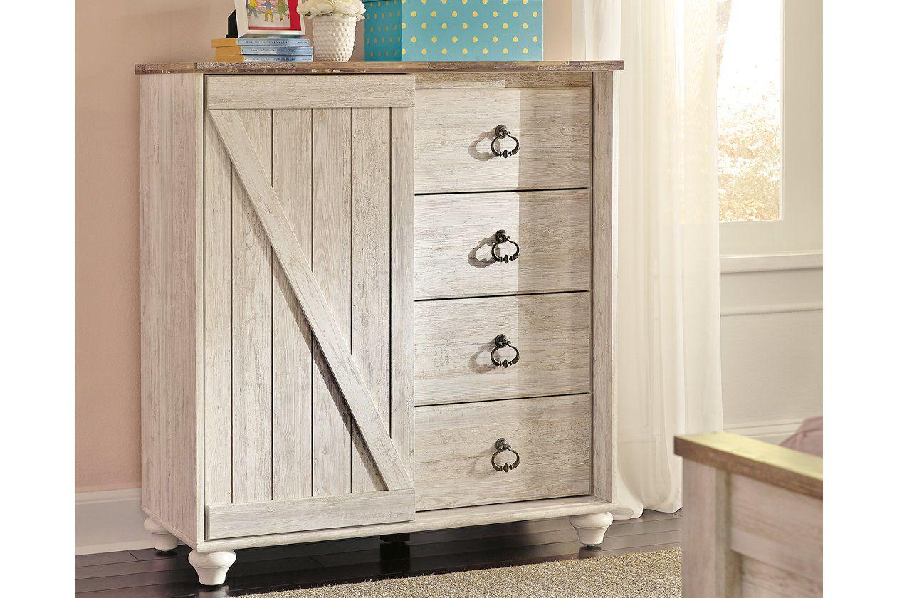 Best Willowton Kids Dressing Chest Ashley Furniture Homestore 400 x 300